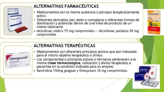 Resultado de imagen para Alternativas farmacéuticas