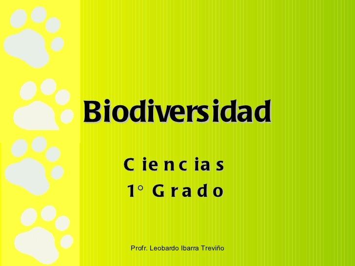 Biodiversidad Ciencias 1° Grado