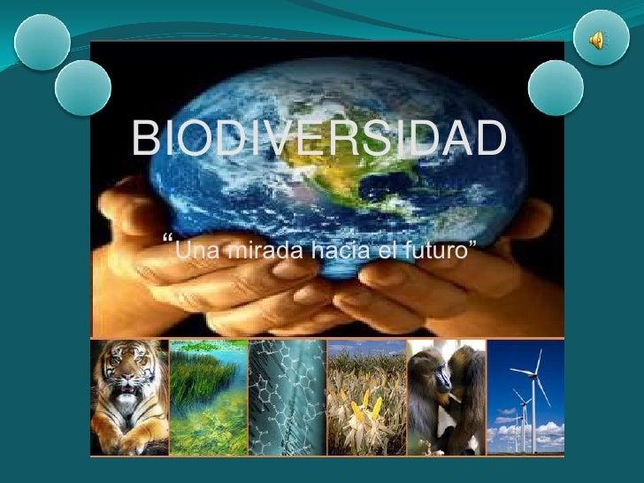 """BIODIVERSIDAD""""Una mirada hacia el futuro""""<br />"""