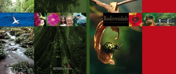 Biodiversidade                                                                      NO ESTADO DE SÃO PAULO                ...