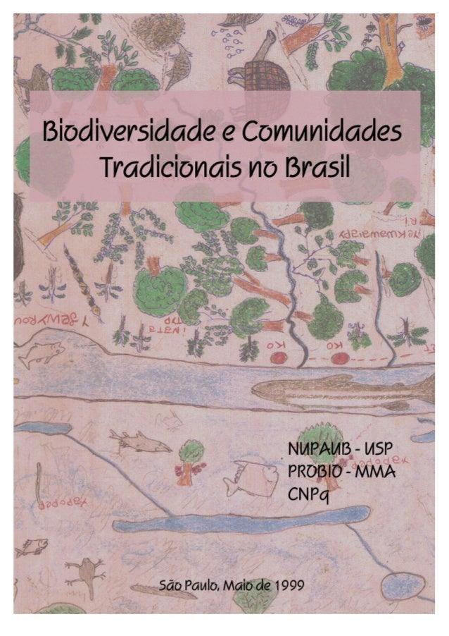 Capa: Mapa de espécies desenhado pelos Kaiabi da aldeia Maraká - Xingu Cedido pelo Pesquisador Marcos Vinicios Chamon Schm...