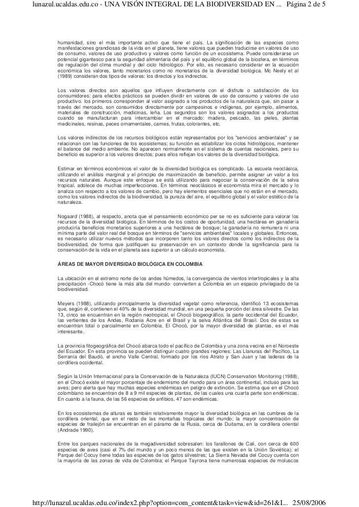 Biodiversidad en colombia Slide 2