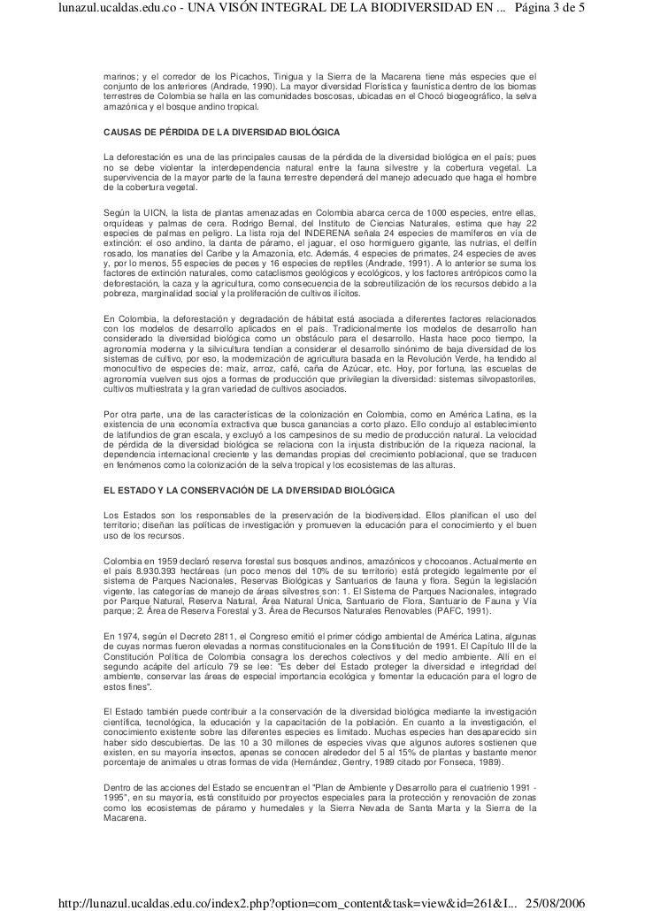 Biodiversidad en colombia Slide 3