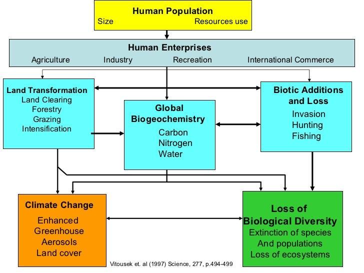 Biodiversity and Human Population Growth