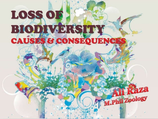 LOSS OFBIODIVERSITYCAUSES & CONSEQUENCES