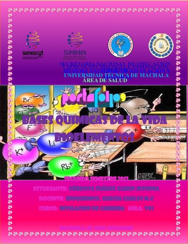 S  SECRETARIA NACIONAL DE EDUCACION CIENCIA,TECNOLOGIA E INNOVACION SUPERIOR, SISTEMA NACIONAL DE NIVELACION Y UNIVERSIDAD...