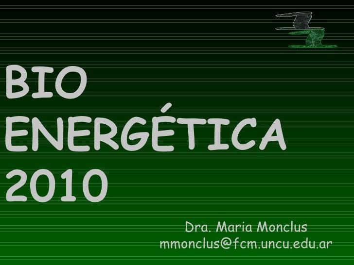 BioenergéTica 10