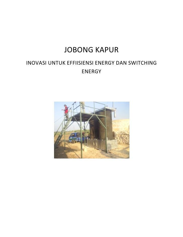 JOBONGKAPUR     INOVASIUNTUKEFFIISIENSIENERGYDANSWITCHING                         ENERG...