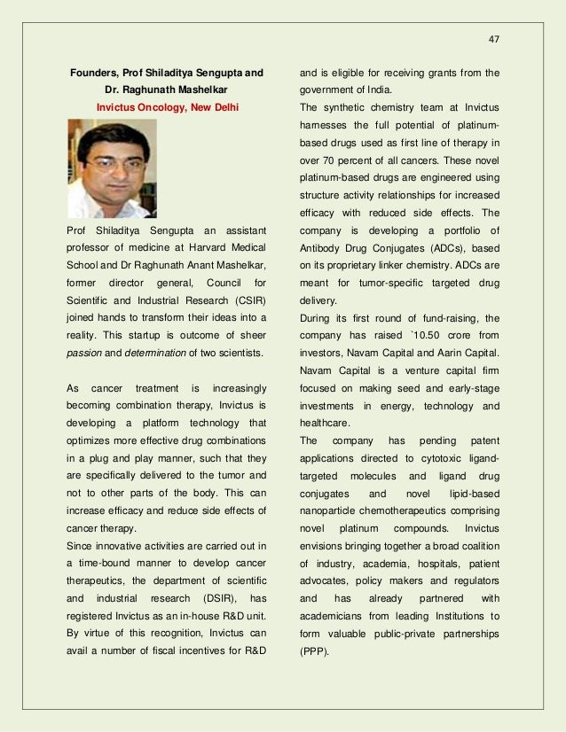 Bioentrepreneurs of india