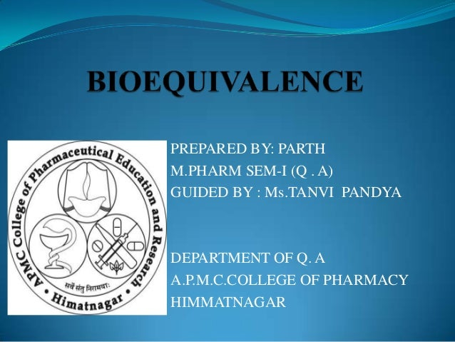 PREPARED BY: PARTHM.PHARM SEM-I (Q . A)GUIDED BY : Ms.TANVI PANDYADEPARTMENT OF Q. AA.P.M.C.COLLEGE OF PHARMACYHIMMATNAGAR