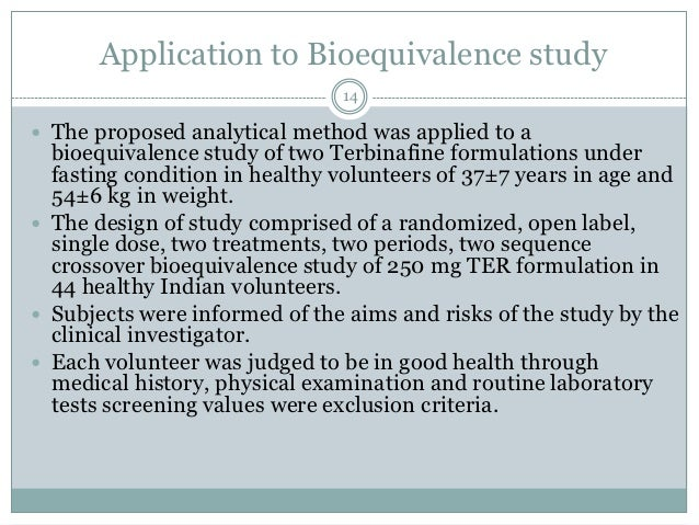 Clinical Endpoint Bioequivalence Study Review in ANDA ...