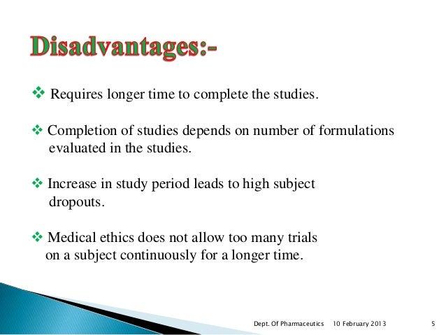 ANDA Bioequivalence Studies That Fail to Meet FDA ...