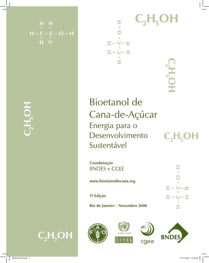 Bioetanol de Cana-de-Açúcar: Energia para o desenvolvimento sustentável