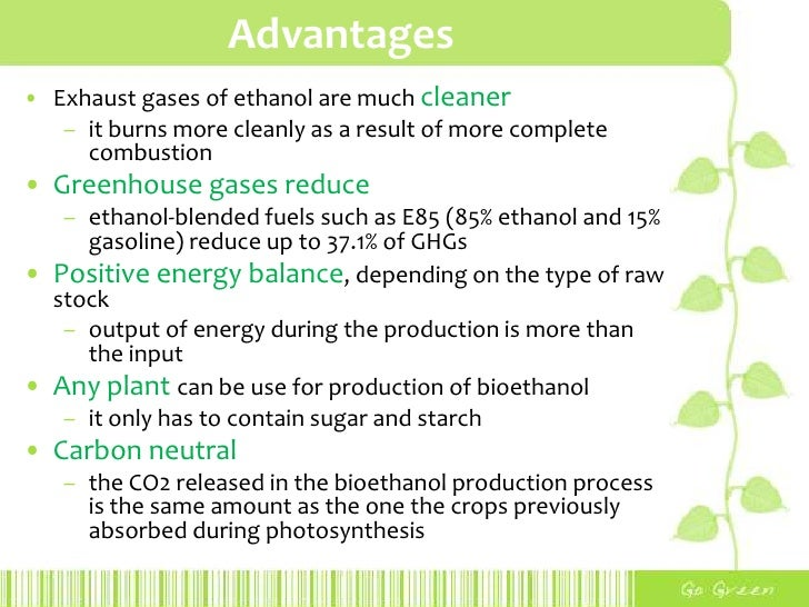 bioethanol applications