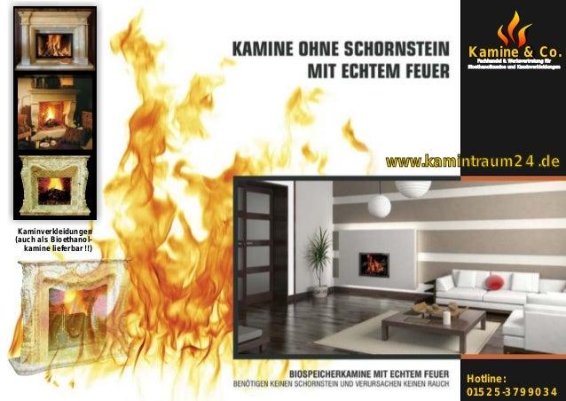 Kamine & Co.                                     Fachhandel & Werksvertretung für                                 Bioethan...