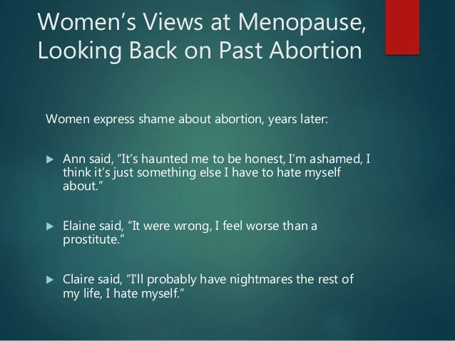 health issues after abortion