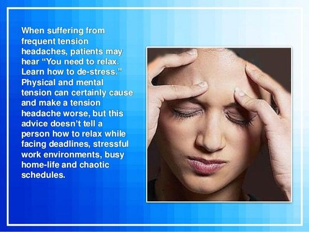Biofeedback For Headache Relief