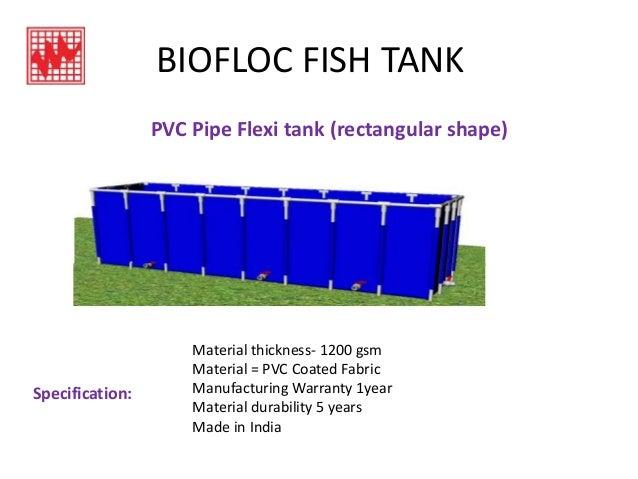 Biofloc fish tank ppt