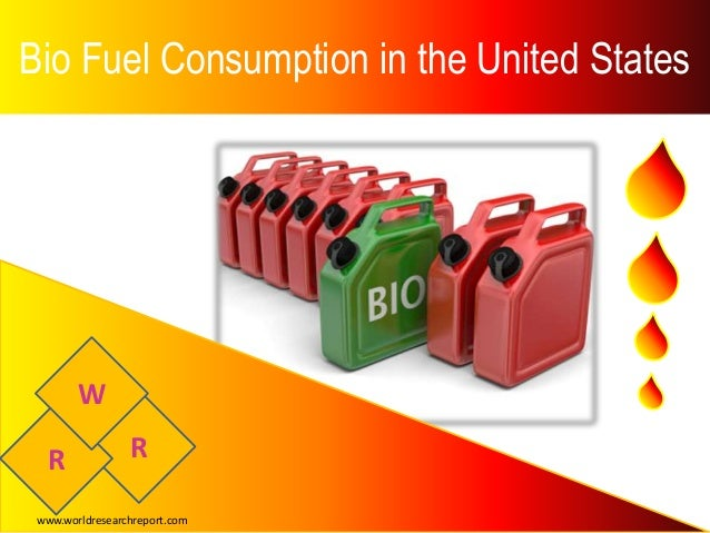 Bio Fuel Consumption in the United States RR W www.worldresearchreport.com