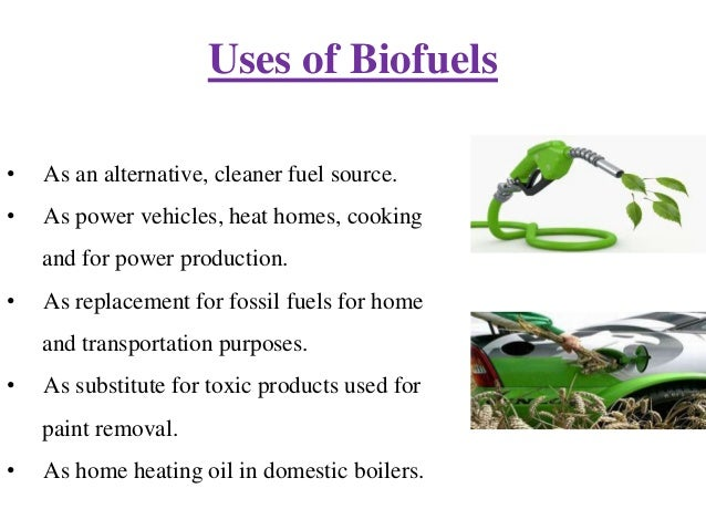 biofuels alternative Biofuels from waste and residual biomass, such as enerkem's ethanol, provide  alternative fuel sources that can gradually replace petroleum in the global fuel.