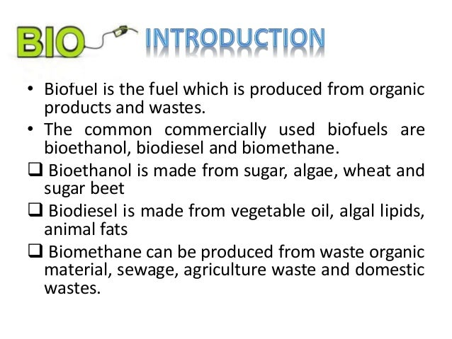 Ppt biofuels powerpoint presentation id:1598949.