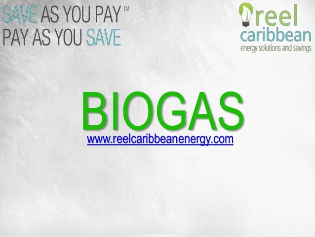 BIOGASwww.reelcaribbeanenergy.com