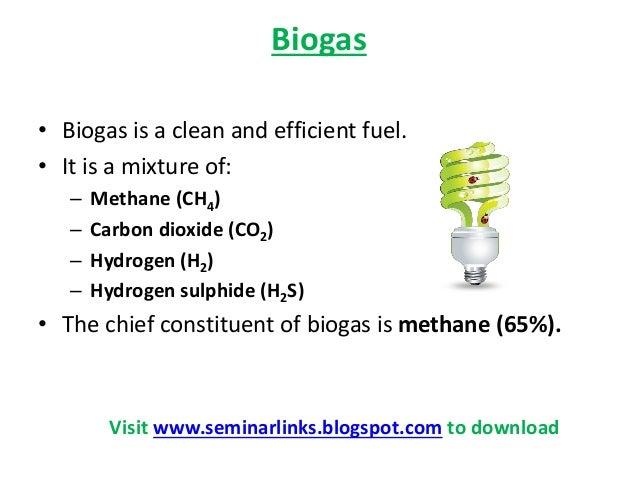 Biogas PPT Slide 2