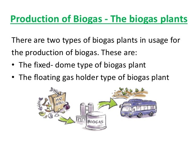 types of biogas digester