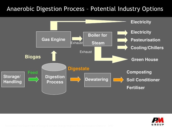 Biogas From Food Waste