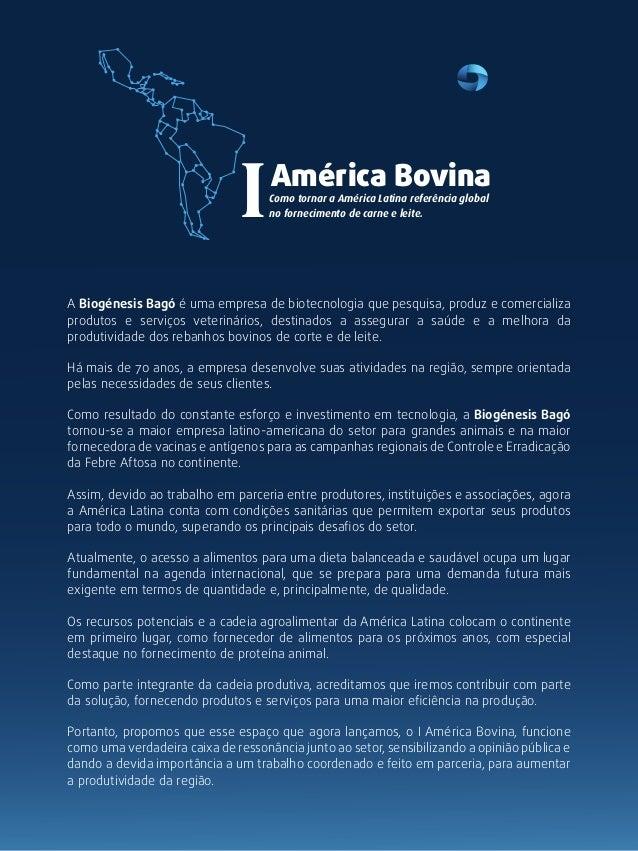 I    América Bovina                                    Como tornar a América Latina referência global                     ...