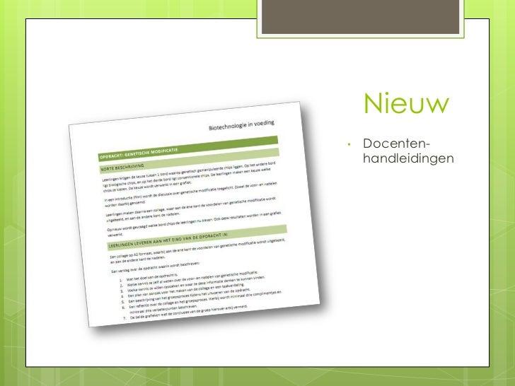Nieuw•   Docenten-    handleidingen