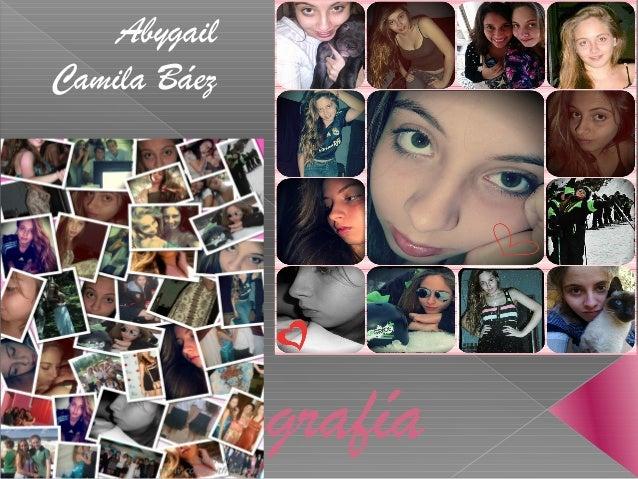 Biografía Abygail Camila Báez