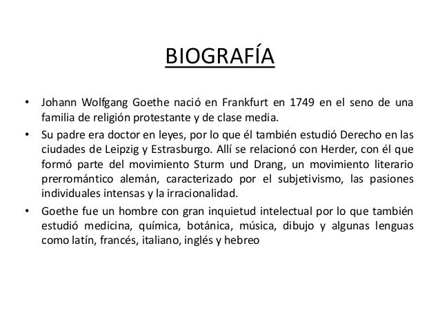 BIOGRAFIA DE GOETHE EBOOK DOWNLOAD