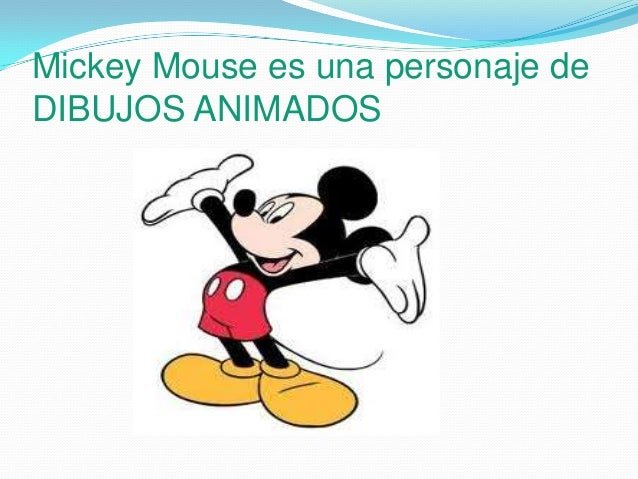 Biografia De Mickey Mouse