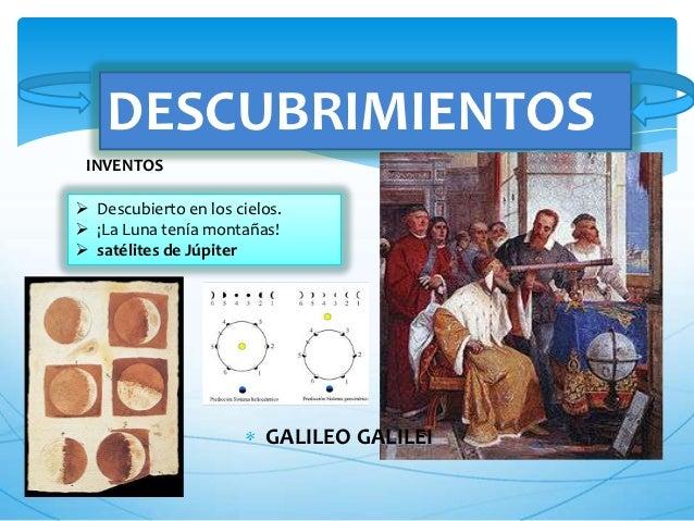 inventos o descubrimientos de galileo galilei