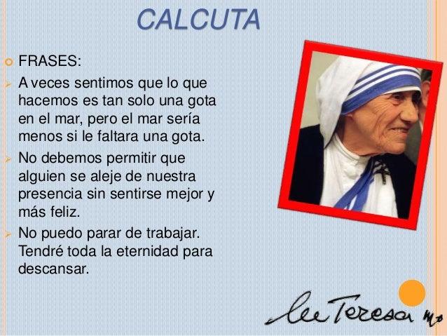 Frasesamor Frases De Amor Y Amistad Madre Teresa De Calcuta