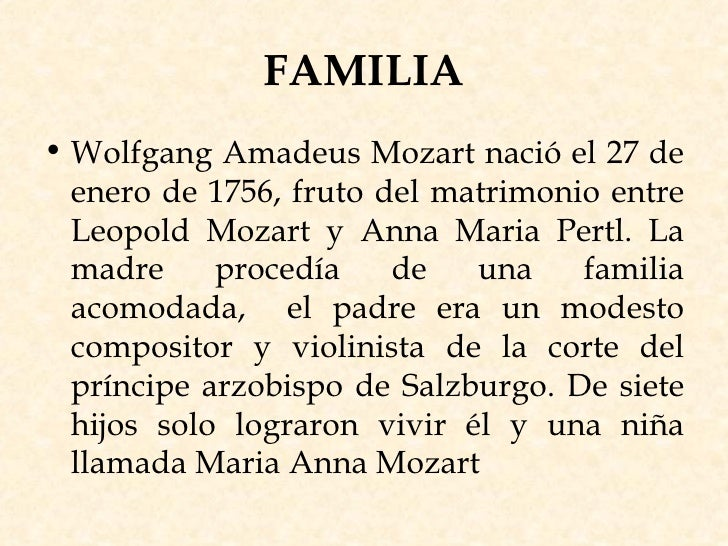 Biograf 237 A Wolfgang Amadeus Mozart