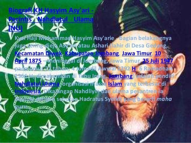 Tanggal 31 Januari 1926, bersama dengan tokoh-tokoh Islam  tradisiona lainnya, Kiai Hasyim Asy'ari mendirikan Nahdlatul  U...