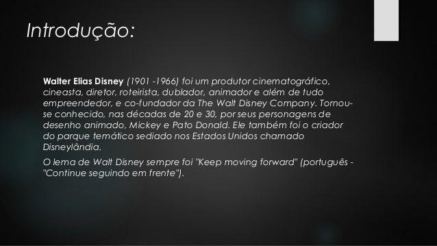 Biografia: Walt Disney. Slide 2