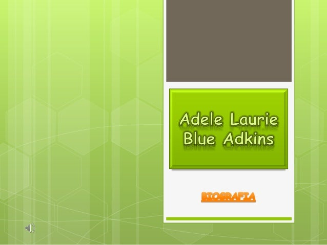 Adele laurie blue essay