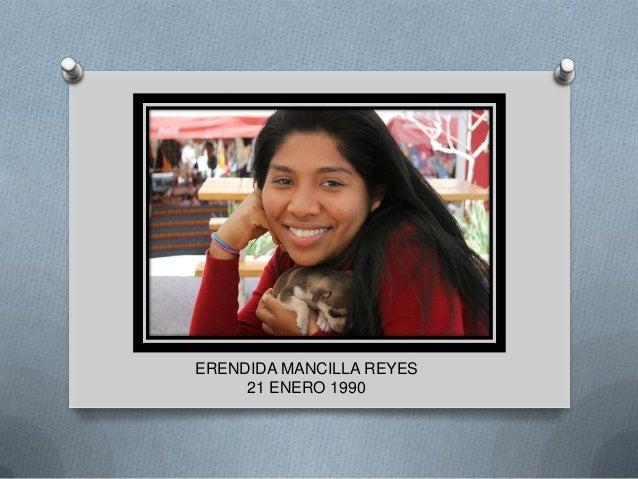 ERENDIDA MANCILLA REYES     21 ENERO 1990