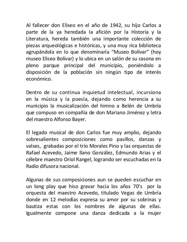 Biografia de carlos bolivar Slide 2