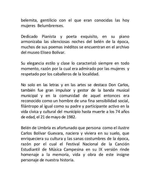 Biografia de carlos bolivar Slide 3