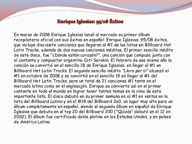 •El 4 de julio de 2007 Enrique Iglesias se convirtió en el primer artista internacional en ofrecer un concierto en Damasco...