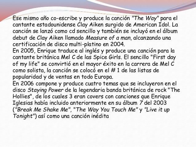 En noviembre de 2011 hizo una colaboracion con Paulina Rubio y Taboo con el tema Ho Me Toca A Mi del ultimo trabajo de Pau...