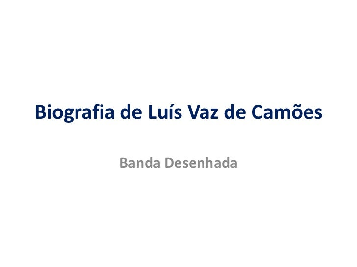 Biografia de Luís Vaz de Camões<br />Banda Desenhada<br />