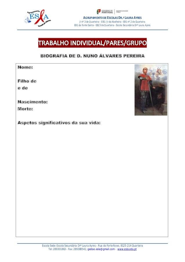 AGRUPAMENTO DE ESCOLAS DR.ª LAURA AYRES JI nº 3 de Quarteira – EB1 /JI da Abelheira –EB1 nº 2 de Quarteira EB1 da Fonte Sa...
