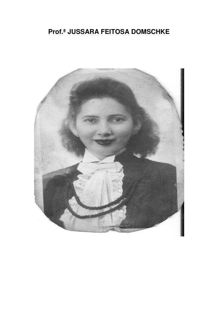 Prof.ª JUSSARA FEITOSA DOMSCHKE
