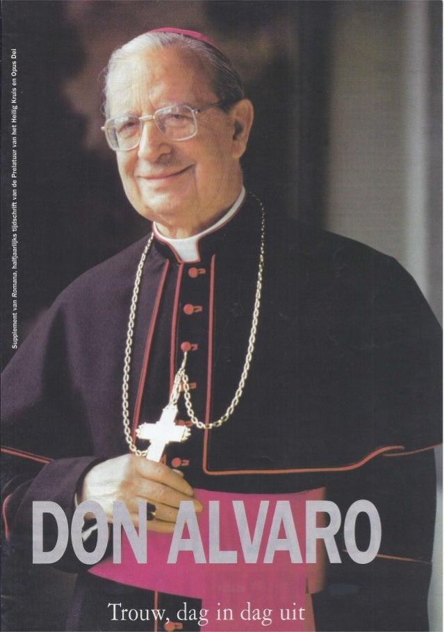 Biografie van Alvaro del Portillo