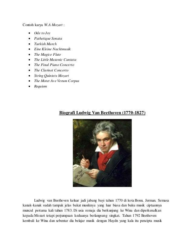 Biografi Tokoh Musik Dunia